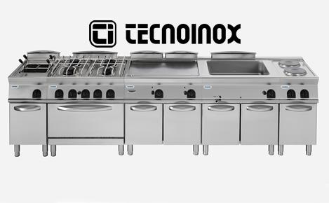 Cucine a gas professionali per ristoranti Tecnoinox, vendita e assistenza a Cagliari Sardegna