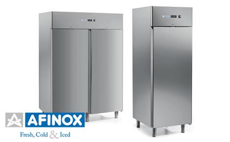Attrezzature frigorifere e abbattitori di temperatura professionali Afinox, vendita e assistenza a Cagliari, Sardegna