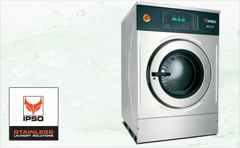 Lavatrici Ipso, macchinari per lavanderia, lavanderie self service a Cagliari, Sardegna